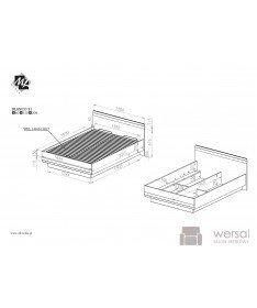 Łóżko BLANCO 32 2