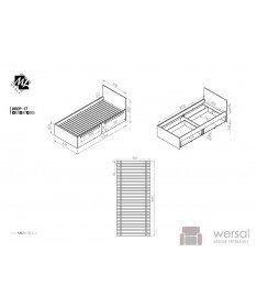 Łóżko DROP 17 3