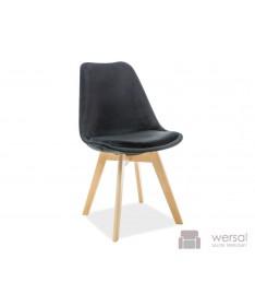 Krzesło DIOR VELVET buk