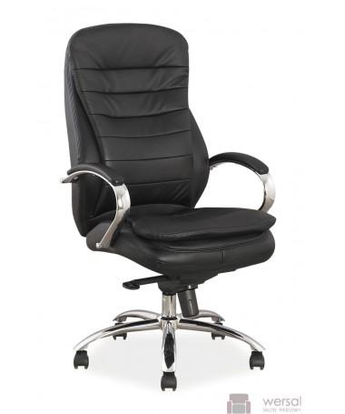 Fotel obrotowy Q-154 skóra naturalna