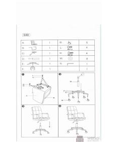 Fotel obrotowy Q-022 2