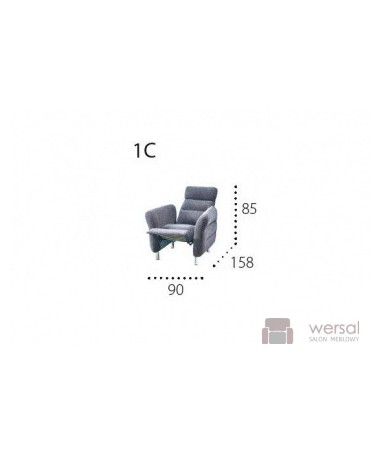 Fotel NITRA 1C Relax