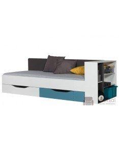 Łóżko TABLO 12 L/P + dostawka TABLO 12B L/P