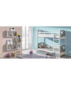 Łóżko piętrowe KEVIN 2