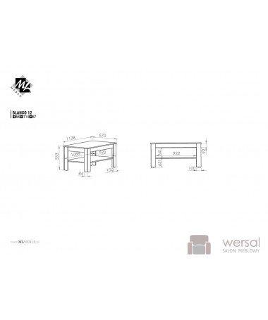 Stół BLANCO 12
