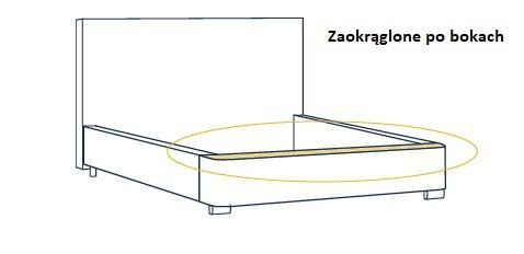 łóżko Aston Meblewersalpl