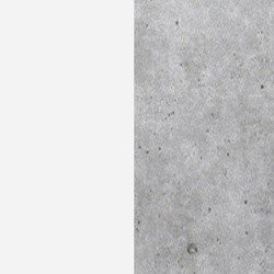 biały / beton
