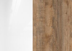 biały/sandal oak