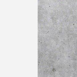 Biały supermat/beton colorado